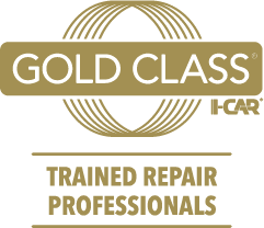 Gold Class I-CAR trained repair professionals logo