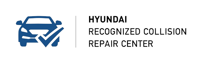 Hyundai recognized collision repair center logo