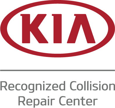 KIA recognized collision repair facility logo